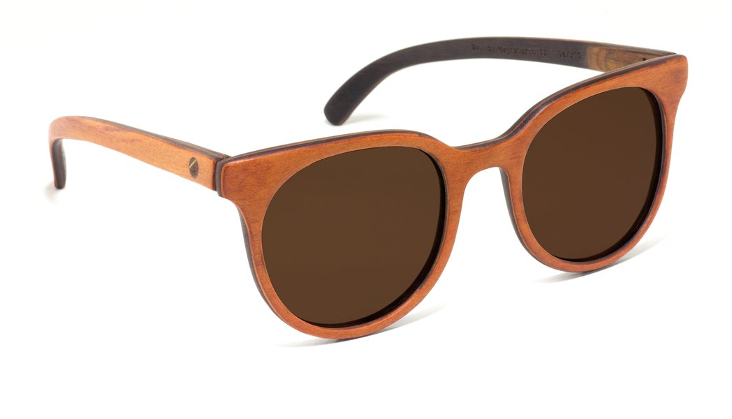 Kini . Óculos de Sol   Madeira Reciclada - ZEREZES 68d03fe5f7