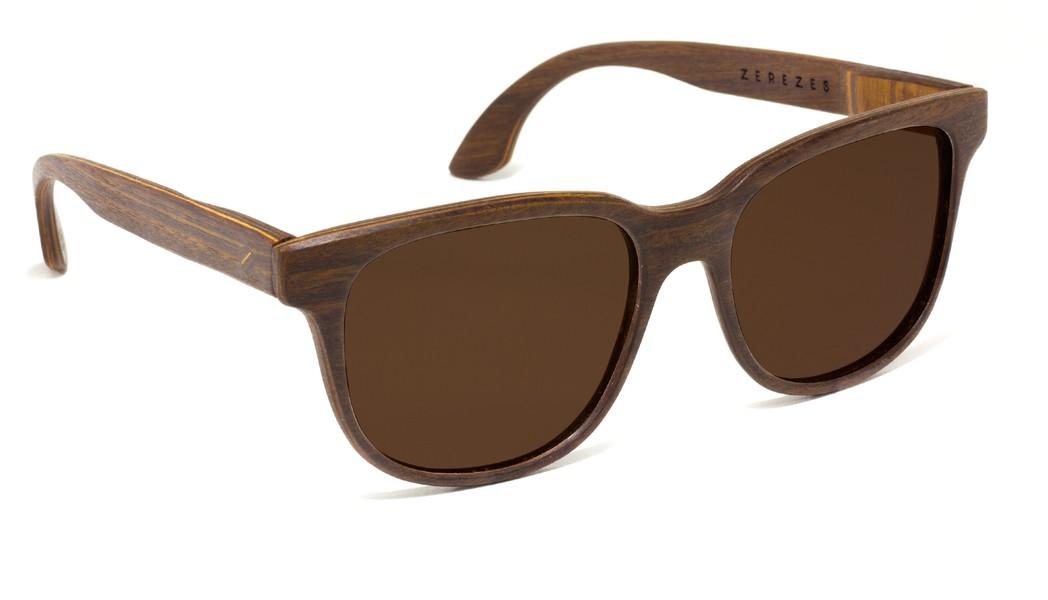 Gile . Óculos de Sol   Madeira - ZEREZES 96af00d4b3