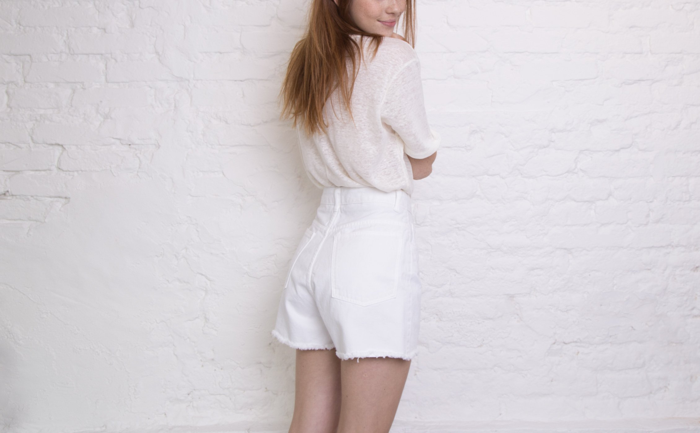 Shorts Cintura Super Alta | Emma Off White